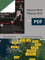 Salomon Xtrail 2016 Race Route