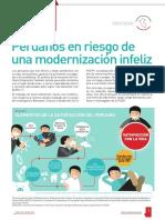 Peruanos en riesgo de una modernización infeliz
