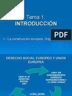 Concepto UE. Evolución