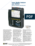 Model 3945-B Power Quality Analyser