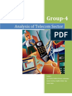 Analysis of telecom sector - Indian Capital Market