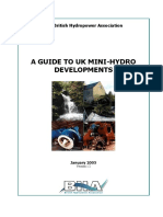 A Guide to UK Mini-hydro Developments