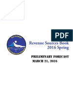 Alaska preliminary spring revenue forecast