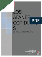 Los Afanes Cotidiano (Rocío Ramírez)