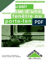 La pose d'une fenêtre ou porte-fenêtre.pdf