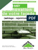 La rénovation de votre façade (sablage, rejointement...).pdf