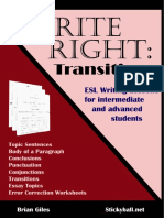 Write Right - Transitions
