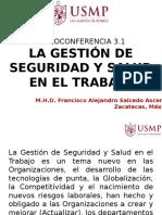 3.1 GESTION DE SST