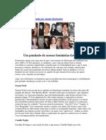 Womens History Month Por Alanis Morissette