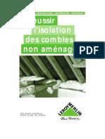 L'isolation des combles non aménagés.pdf