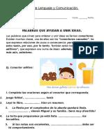 Guía de Los Conectores de Lenguaje y Comunicación