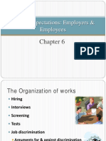 Chap 6 Ethical Expectations Employers & Employees