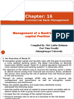 Chapter 16 Mgt of Equity Capital