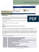 En Relación Nagas; Auditoria de Control Interno