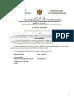 Regulamentului cu privire la condiţiile de stabilire,  modul de calcul şi de plată a indemnizaţiilor pentru incapacitate  temporară de muncă