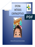 Oficina Metodos Contraceptivos