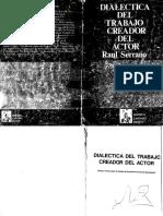 3-Dialectica Del Trabajo Creador - Serrano