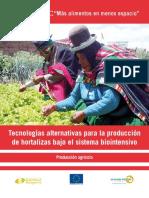 Prod. de Hortalizas Biointensivo