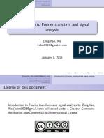 Fourier Transform a Notes