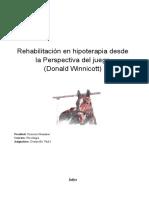 1. Rehabilitación en Hipoterapia Desde La Perpectiva Del Juego (Winnicott)