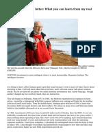 Buffett's annual letter