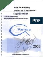 6 Normas y Procedimientos de Seguridad Fisica 2008