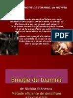 Emotie de toamna PPT