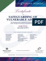 SB Certificate SVP