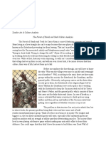 Zombie Cultural Analysis Essay