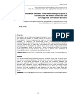 SAUTU-Teoría y Metodología