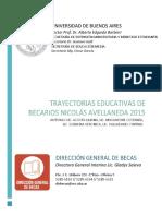 Trayectorias Nicolás Avellaneda 2015
