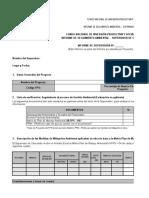 Modelo de Informe Ambiental Para Supervisor E.L.B 2012