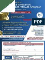 Invitation Banquet 1er Mai 1
