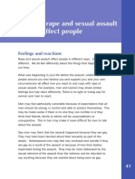 The Effects of Rape and Sexual Assault