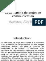 La Démarche de Projet en Communication 2015