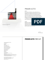 Catalogo muestra Primer Acto