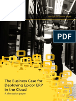 Epicor Business Case Deploying ERP WP ENS 0614