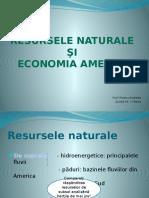 Resursele Naturale Şi Economia Americii
