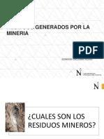 Residuos Generados Por La Mineria