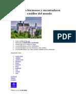 Los Más Hermosos y Encantadores Castillos Del Mundo