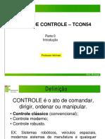TEORIA DE CONTROLE