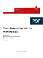 State, Government and the Working Class