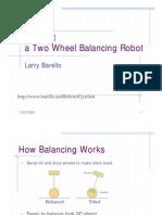 Balancing Robot Seminar