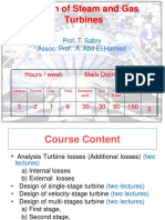 First Three Lectures - Turbine Desine