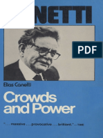 Canetti, Elias - Crowds and Power (Continuum, 1978)