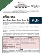 1- Competencia Redaccion -Ortografia Taller No. 17 Nice