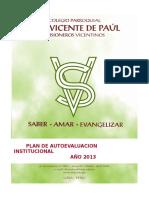 Plan de AutoevaluaciónSVP-LIMA