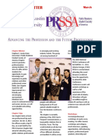 prssa newsletter