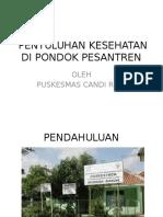 PENYULUHAN KESEHATAN DI PONDOK PESANTREN.pptx