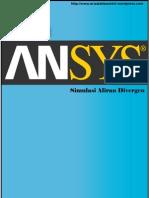 Aliran Divergen Using ANSYS 12
